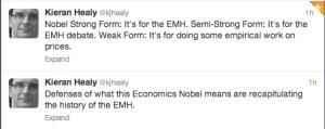 Healy on 2013 Econ Nobel